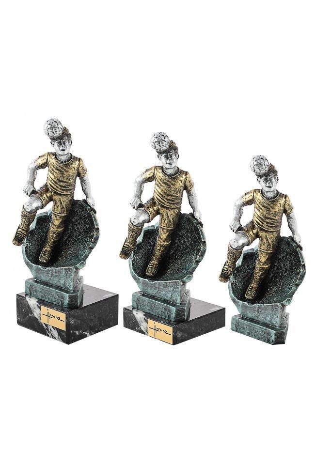 Trofeo Resina Futbolista Cabeza