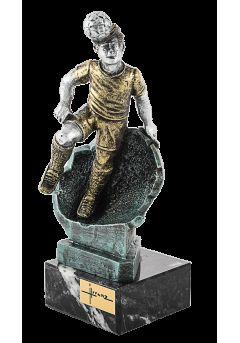 trofeo resina futbolista cabeza 6