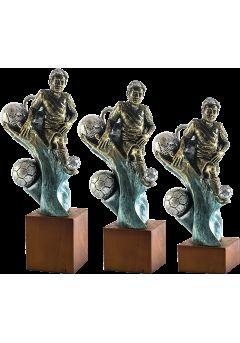 Trofeo futbolista y mundial