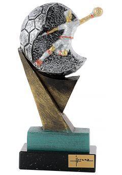 Trofeo de resina Portero Thumb