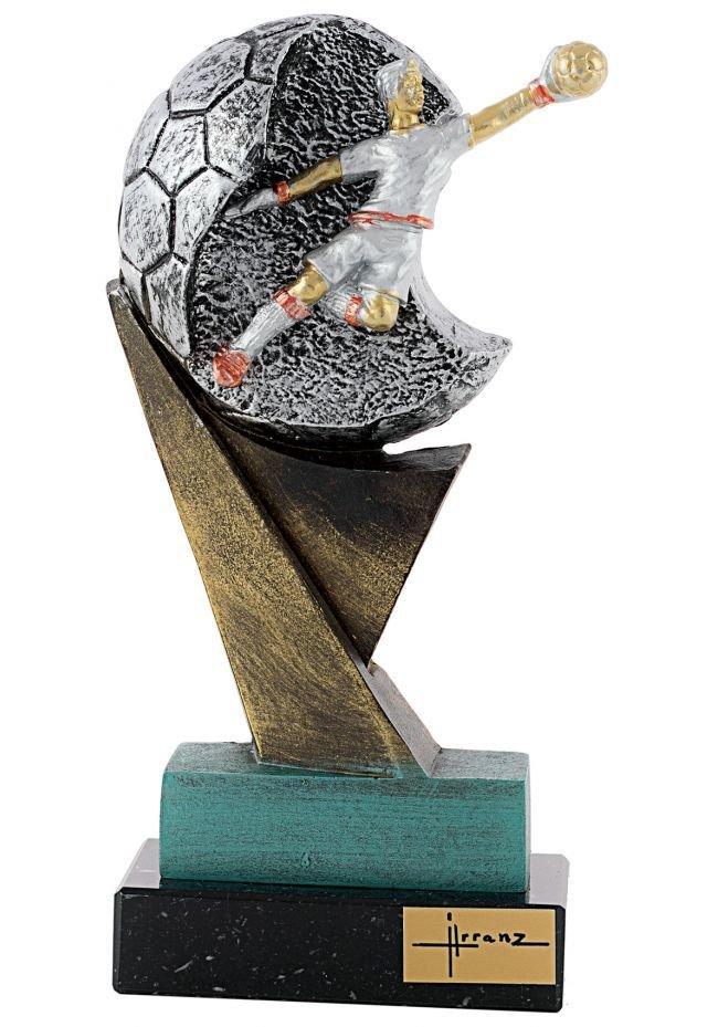 Trofeo de resina Portero
