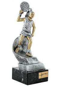 Trofeo jugador pádel mujer-3