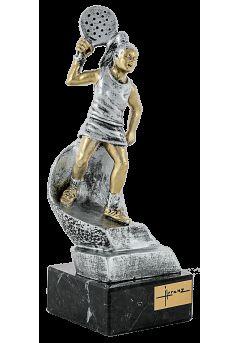 trofeo jugador padel mujer2349 2