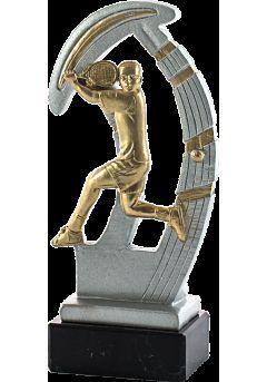 trofeo de resina deportivo de tenis 2