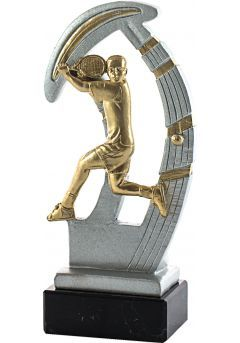 Trofeo de resina deportivo de tenis Thumb