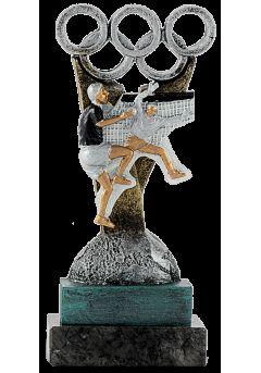 trofeo de balonmano en resina 1