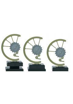 Trofeo con engranaje de bicicleta Thumb