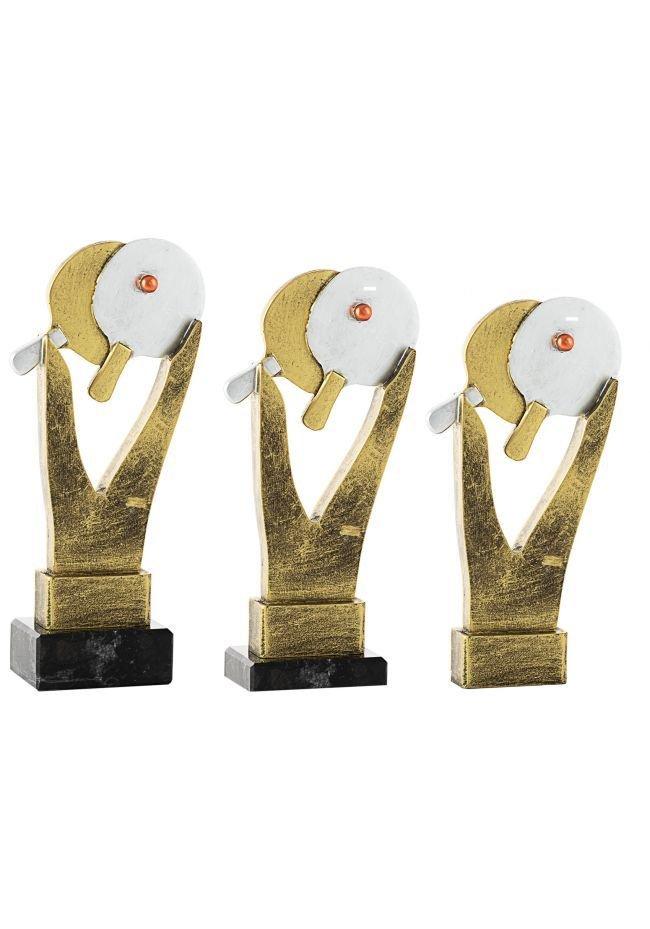 Trofeo ping-pong resina