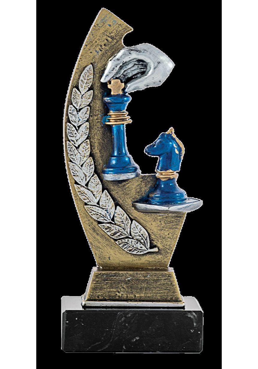 Trofeo Resina Laurel Ajedrez