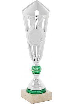 Copa Medio Cono Plata Portadiscos Verde Thumb