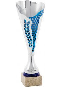 Trofeo copa cónica plata Laurel -1