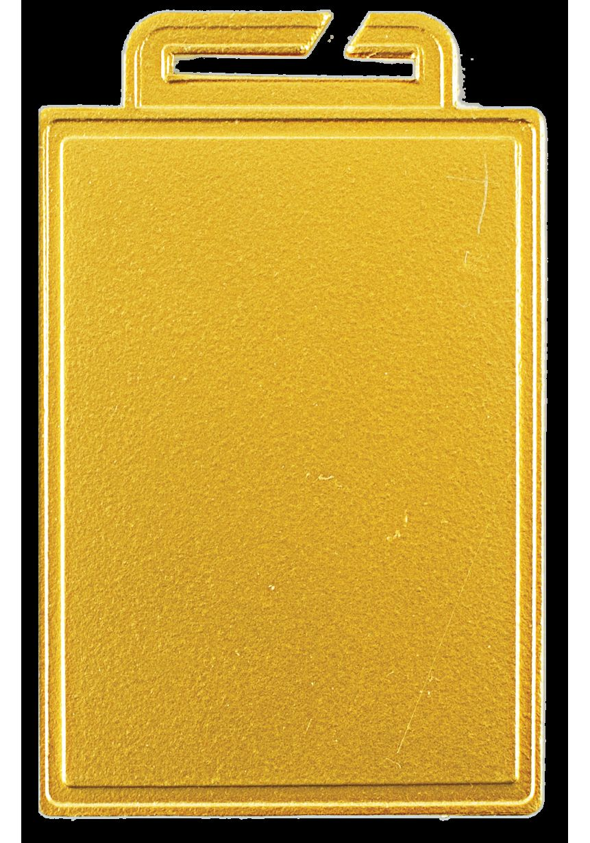 Medalla Especial Marcado color Rectangular