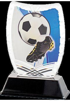 trofeo deportivo de futbol acrilico 1