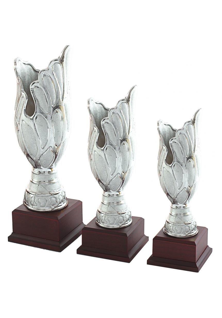 Trofeo jarrón plata labrado