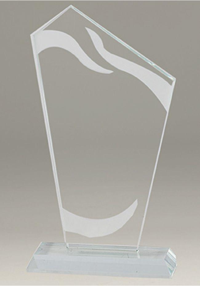 Trofeo de cristal TRAPECIO