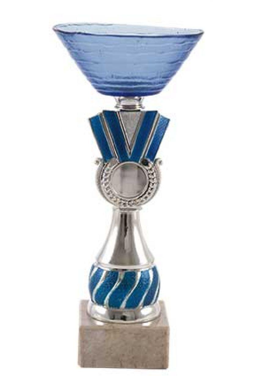 Trofeo vaso transparente