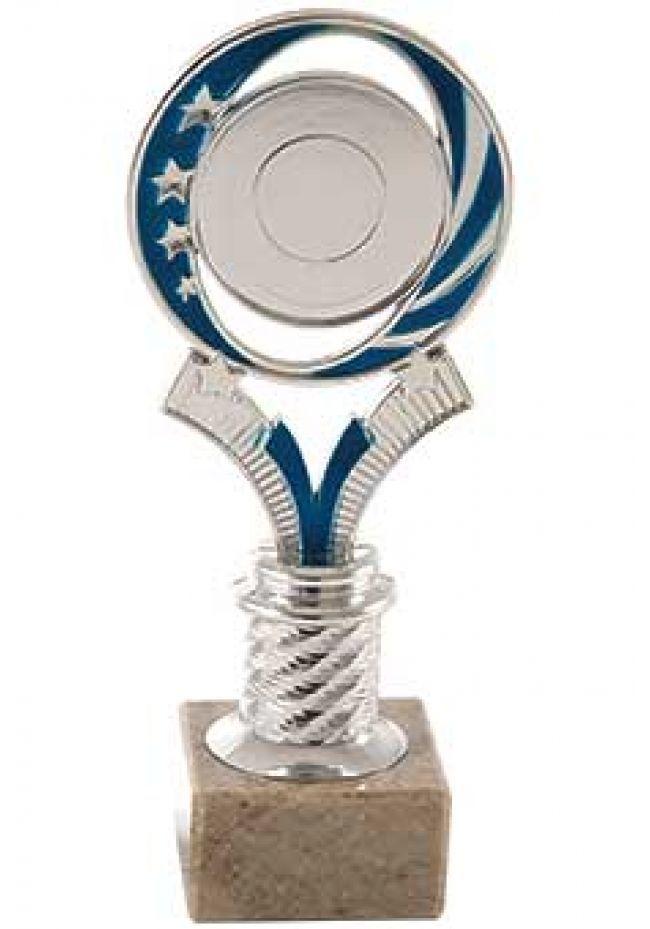 Trofeo portadisco con estrellas
