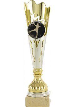 Trofeo estilo antorcha porta portadisco