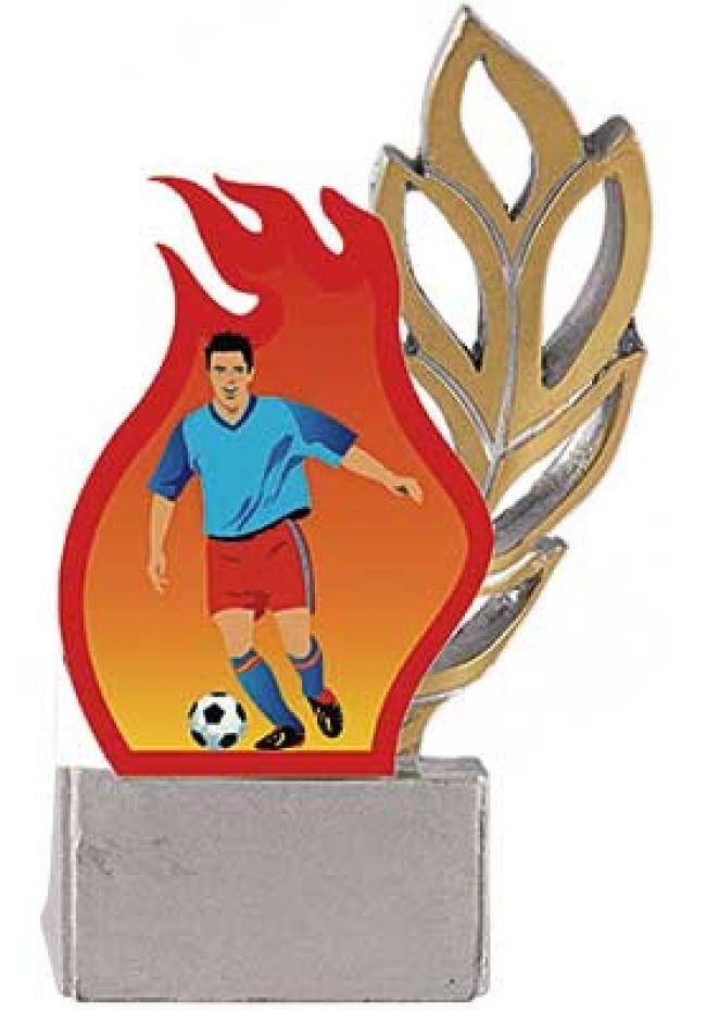 Trofeo laurel aplique deportivo