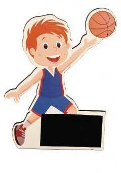 Trofeo de madera muñecos de deportes Thumb
