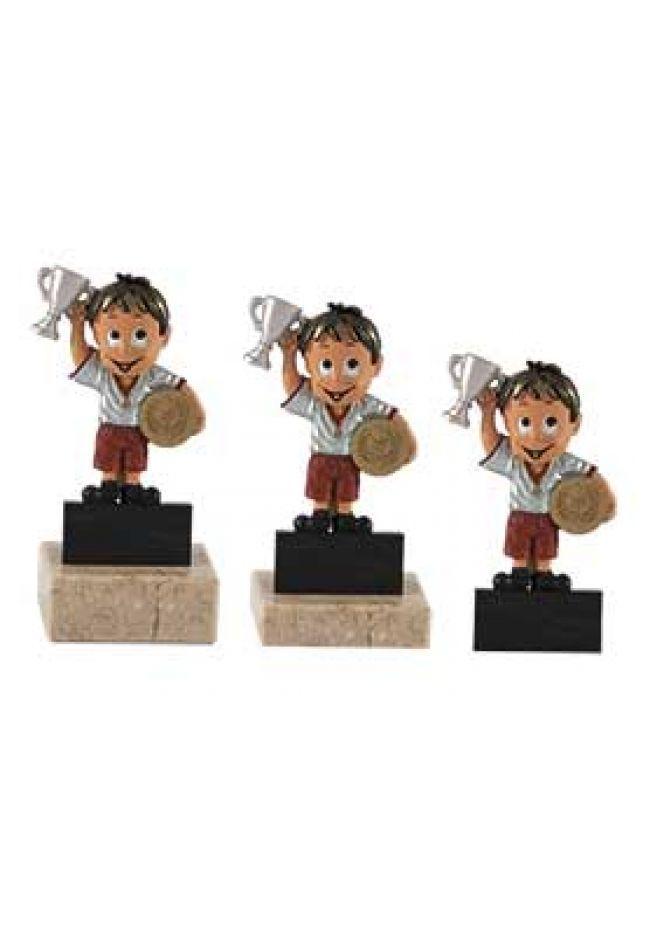 Trofeo de muñeco de participación
