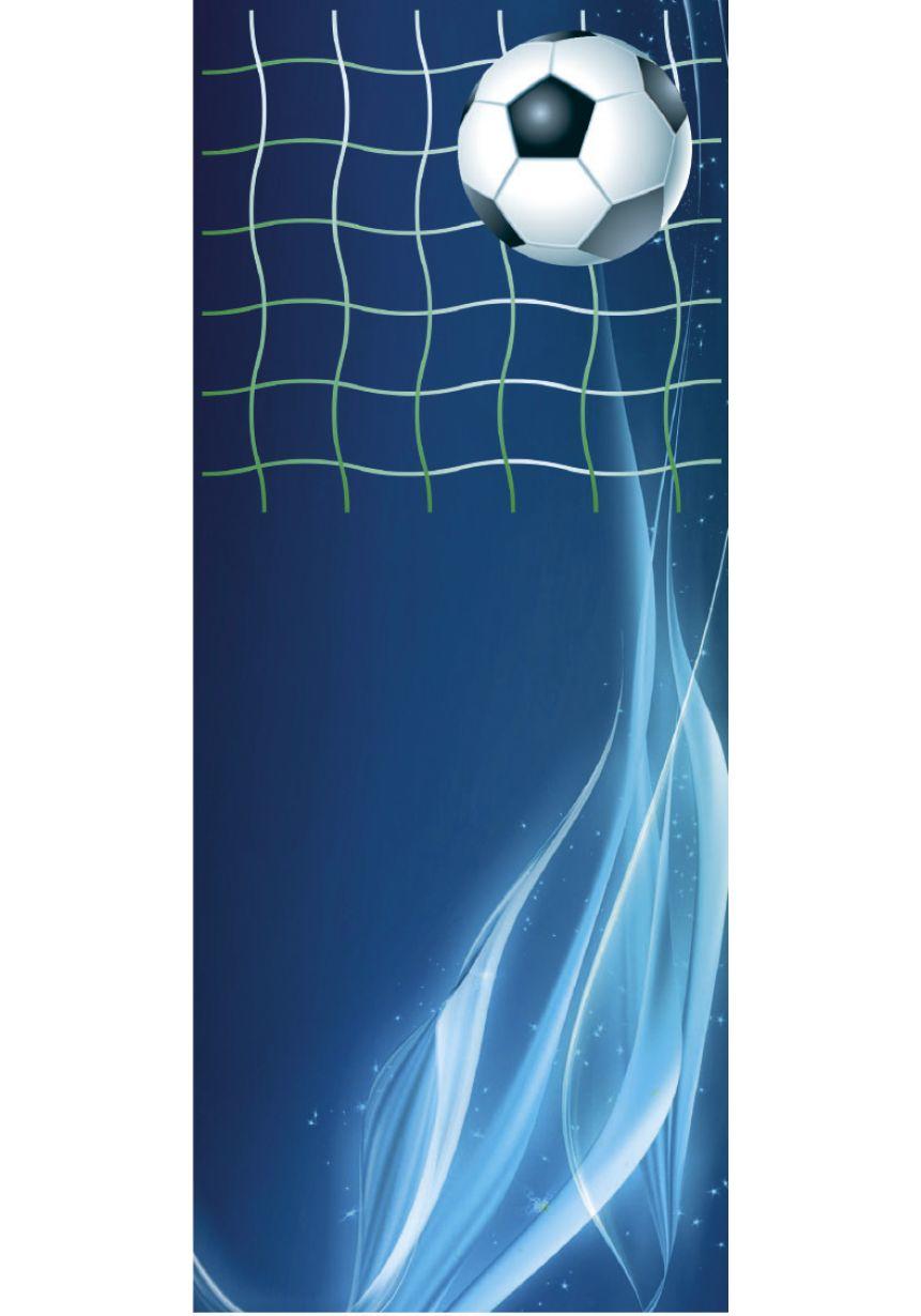 Trofeo cristal rectangular azul