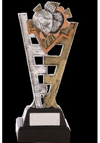 Trofeo resina cremallera deportivo
