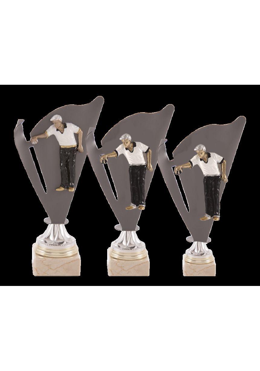 Trofeo deportivo con forma de antorcha
