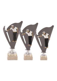 Trofeo deportivo con forma de antorcha Thumb