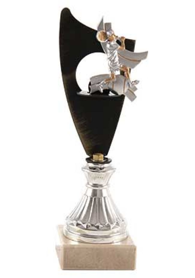 Trofeo vela metal tenis
