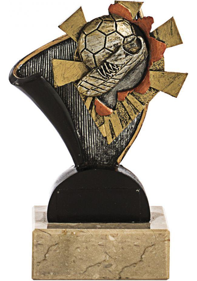 Trofeo soporte resina de diseño para deportes