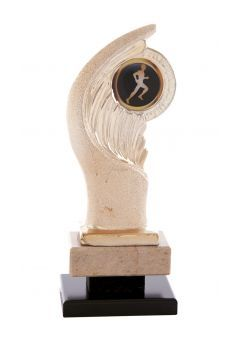 Trofeo resina ala dorada deportivo Thumb