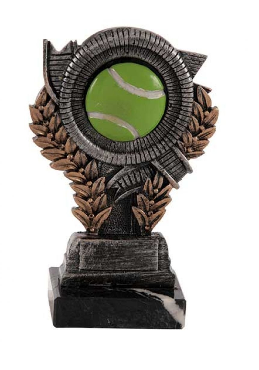 Trofeo resina doble espiga