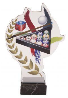 Trofeo aplique color deportivo Thumb
