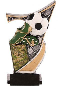 Trofeo resina aplique fútbol-1