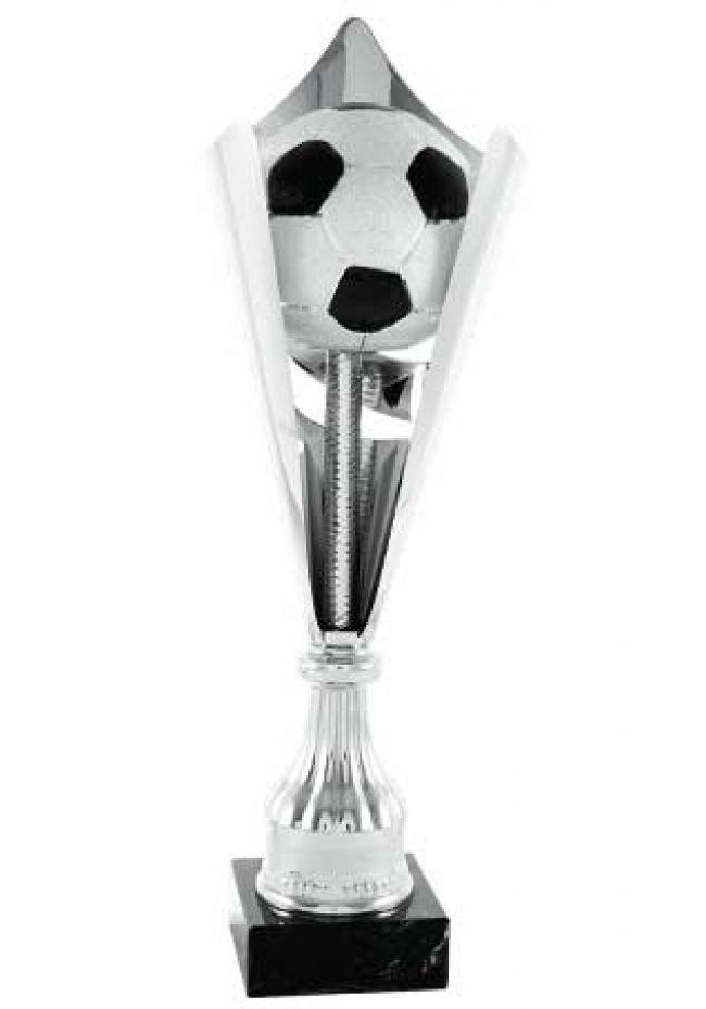 Trofeo balón Fútbol  corte con pilar