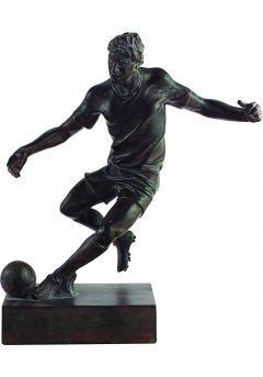 Trofeo figura de resina fútbol