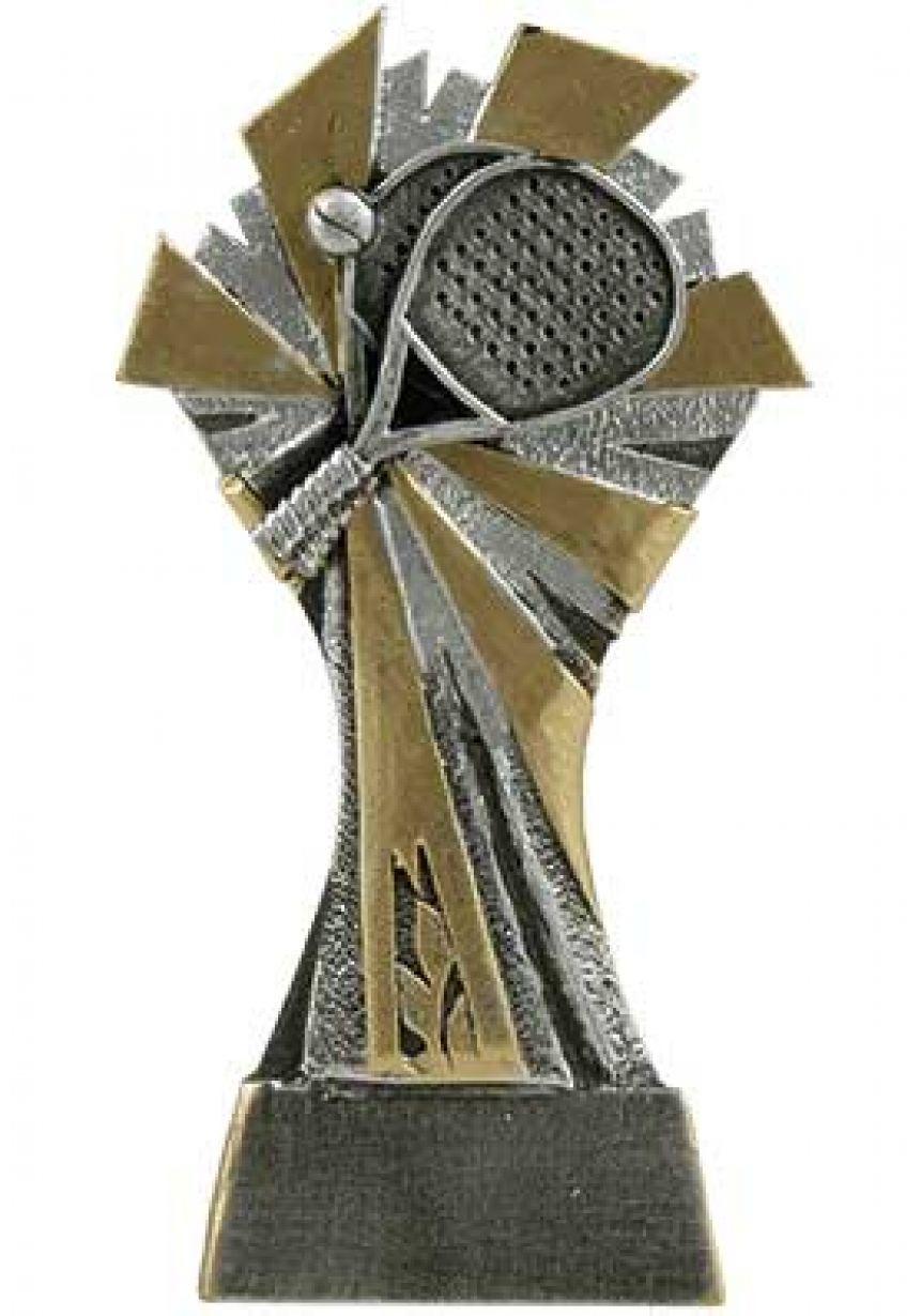 Trofeo de Pádel decorado con sol