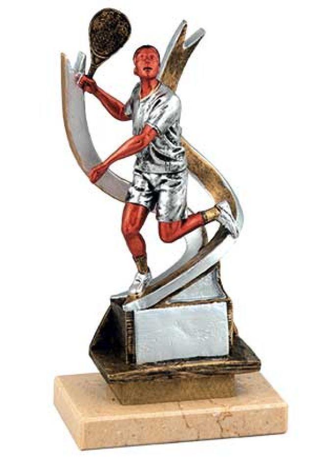 Trofeo de jugador pádel cinta