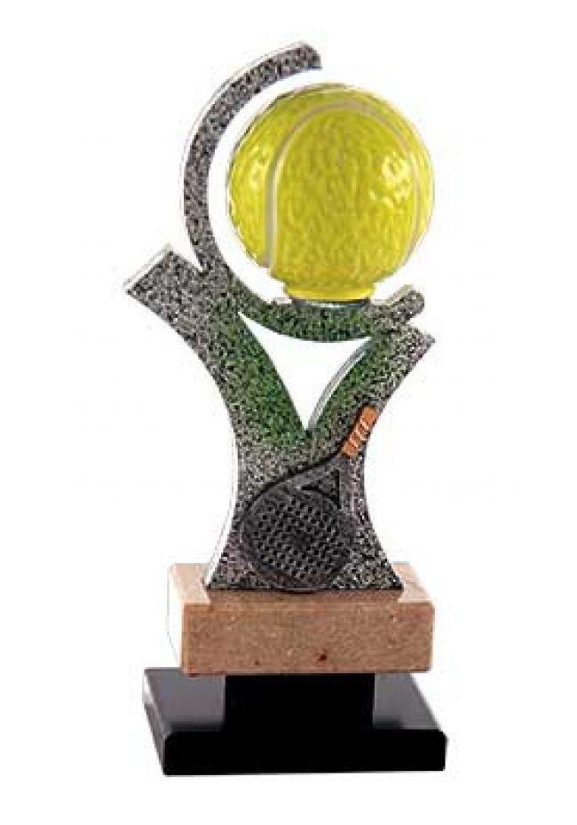 Trofeo papel semicirculo