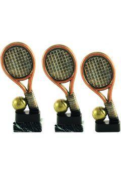 Trofeo raqueta y pelota de tenis Thumb