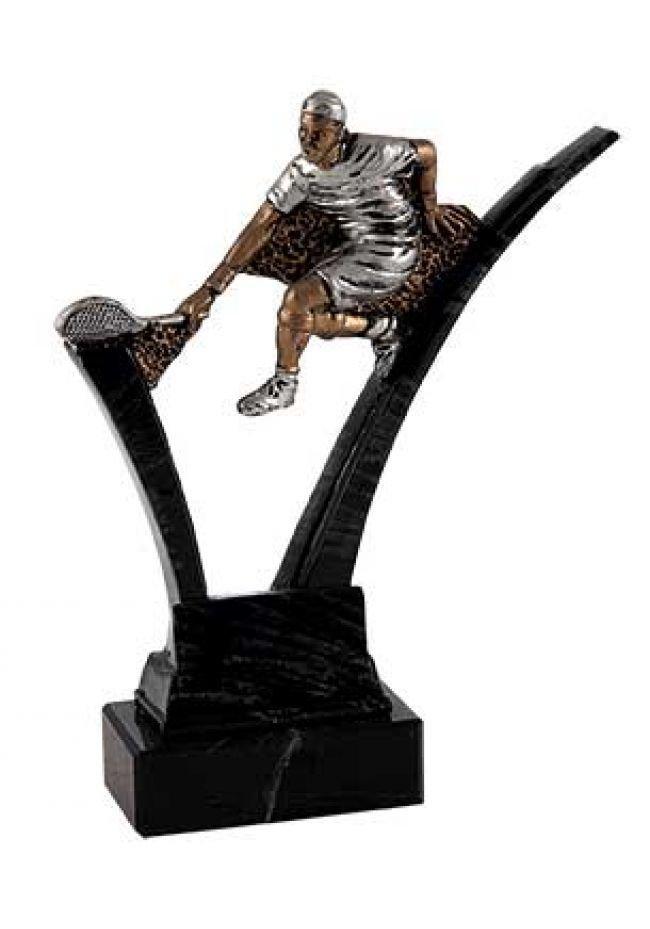 Trofeo de tenis soporte mármol negro