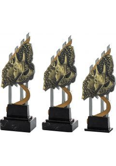 Trofeo resina camiseta/zapatillas Thumb