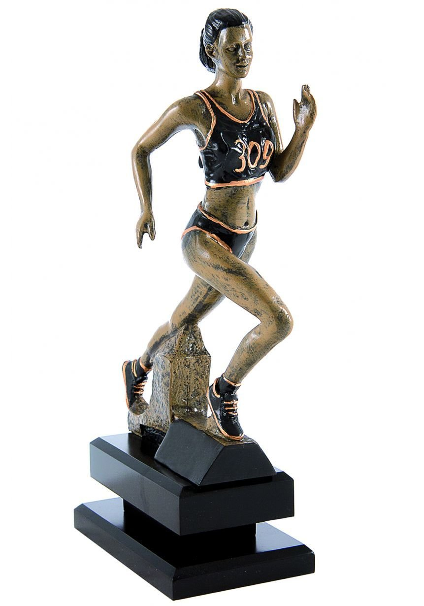 Trofeo con figura cross femenino