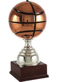 Basketball-Trophäe Kupfer