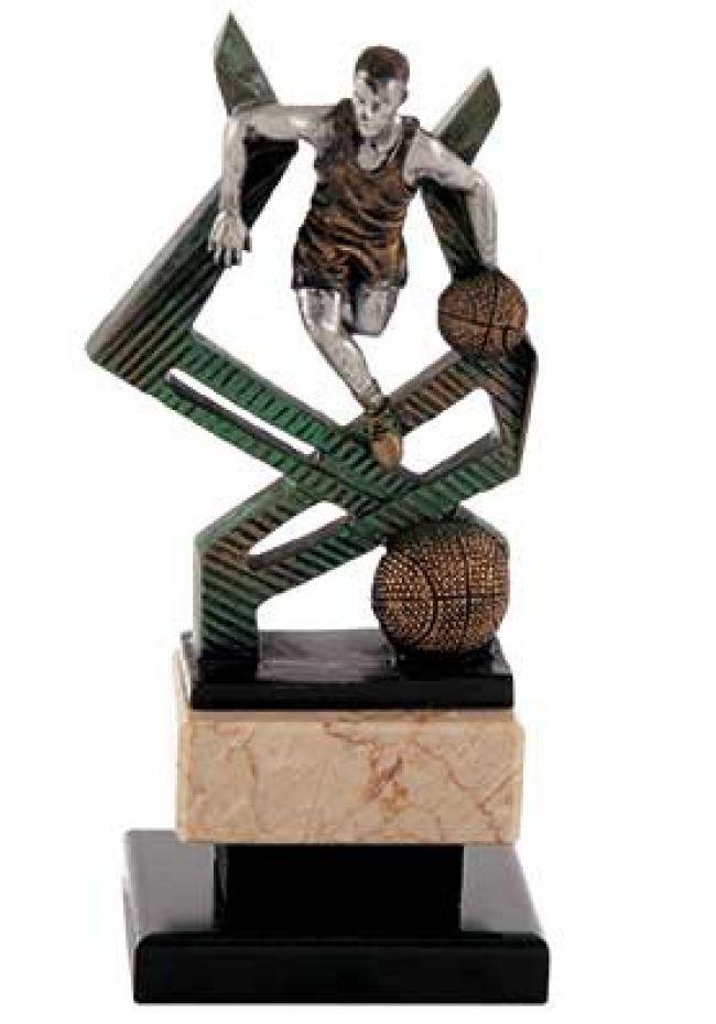 Baloncesto figura de jugador