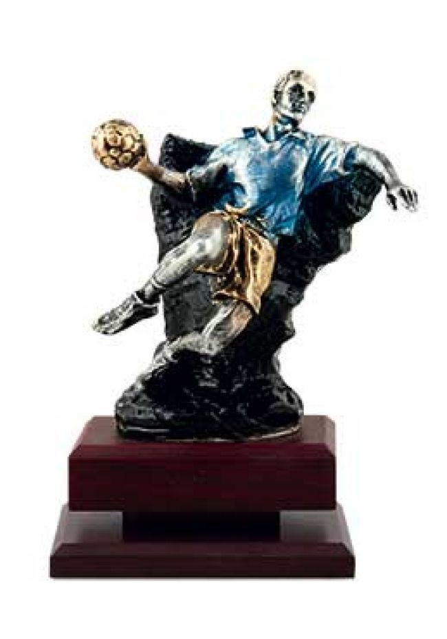Trofeo balonmano en piedra