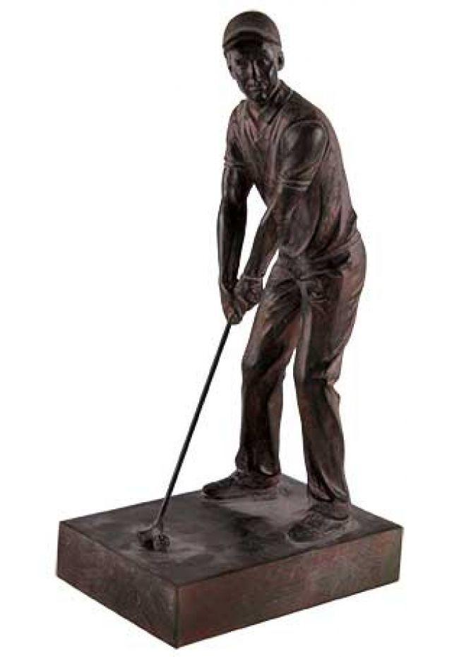 Trofeo de golf de resina para torneos