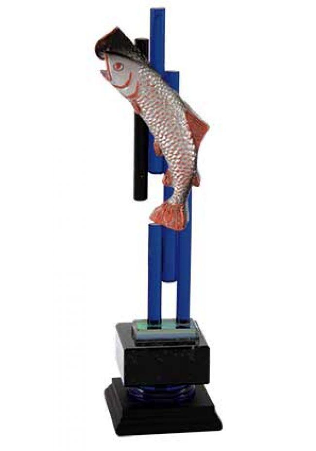 Pesca en columna de cristal