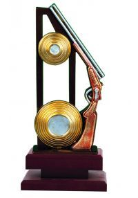 Trofeo con figura tiro al plato-1